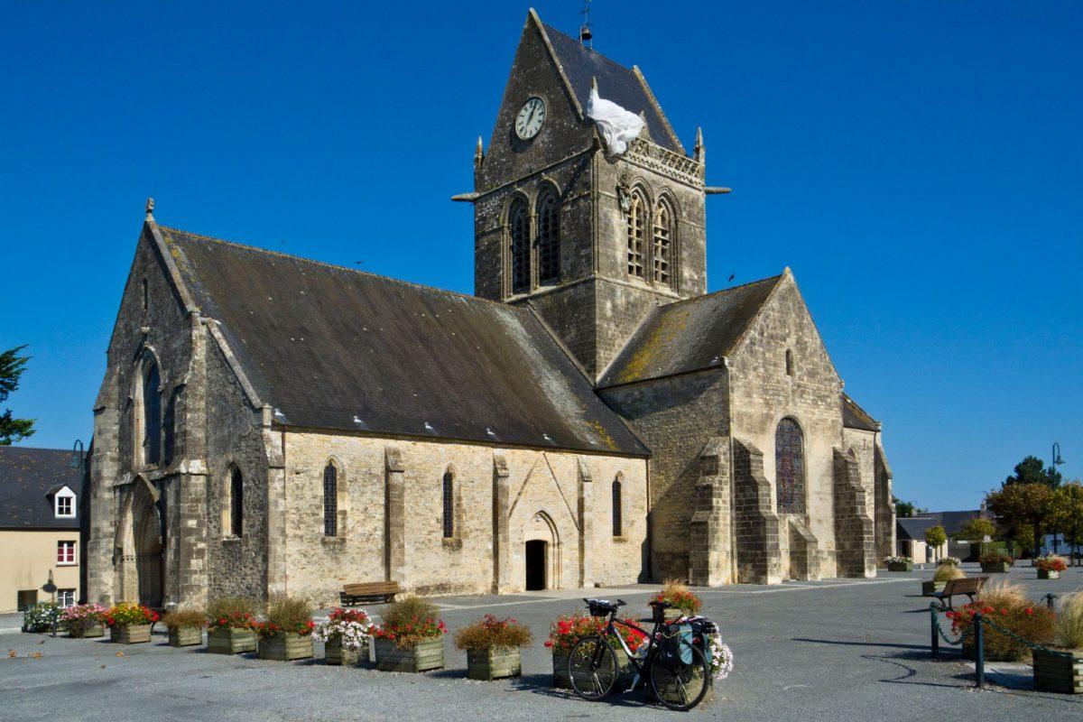 Die Kirche von Sainte-Mère-Eglise