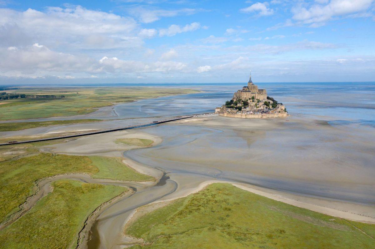 Der Mont Saint-Michel und seine Bucht