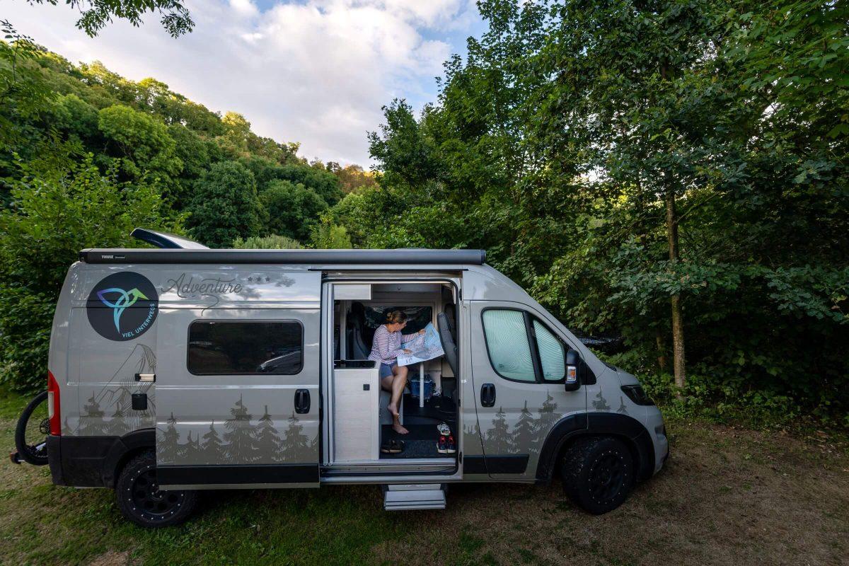 Camping in der normannischen Schweiz: Camping de la Rouvre