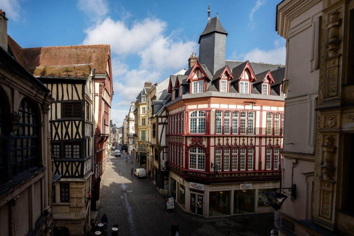 Rouen Rue du Gros Horloge
