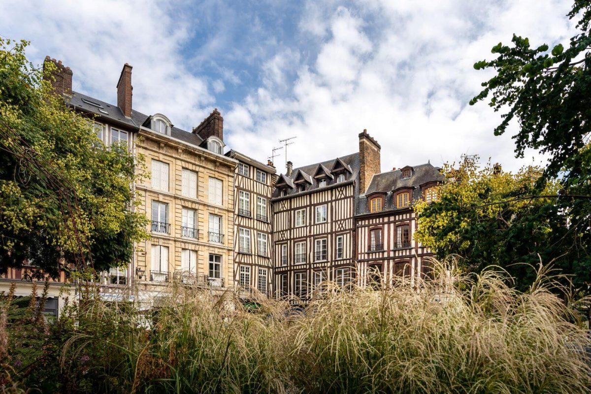 Fachwerkhäuser in Rouen