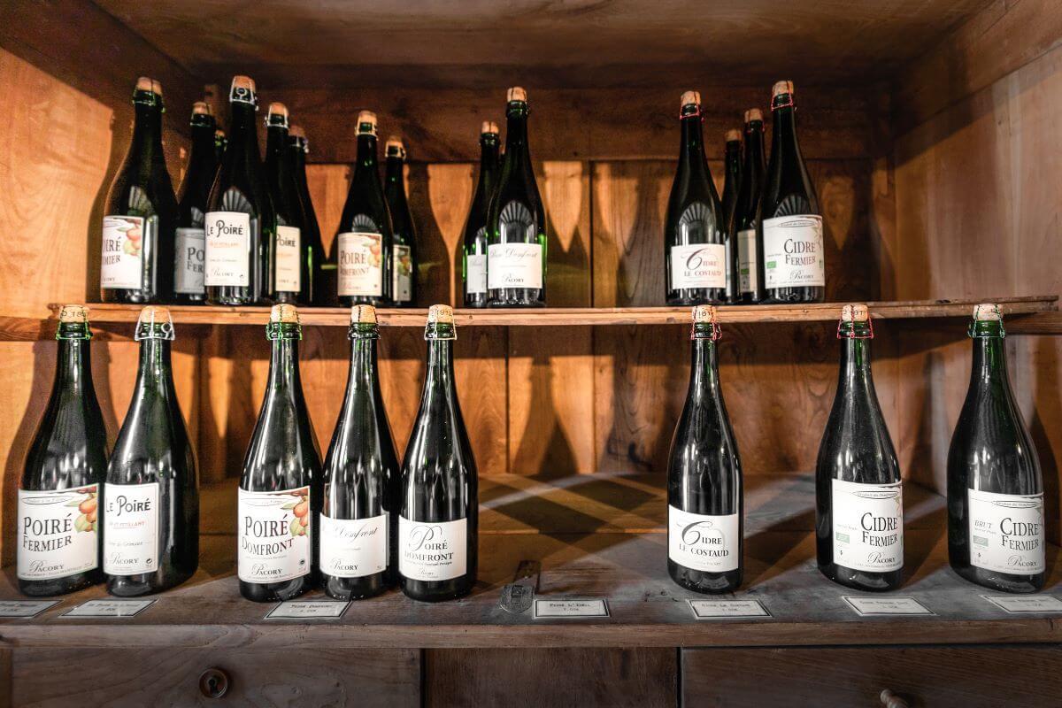 Herkunftsgeschützter Birnenschaumwein und Cidre von Pacory