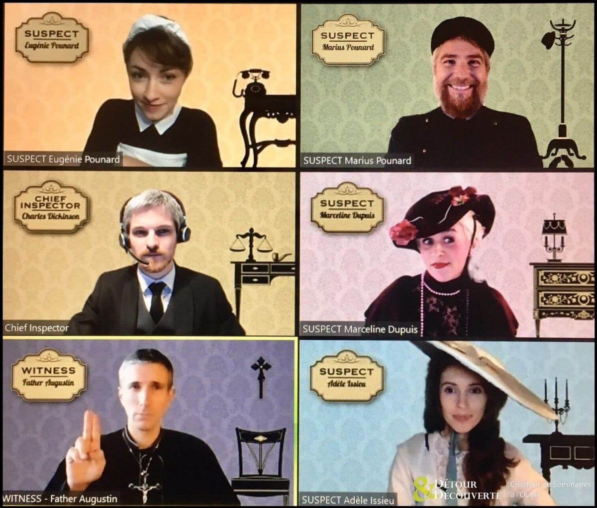 MICE Online Murder-Party mit professionellen Schauspielern