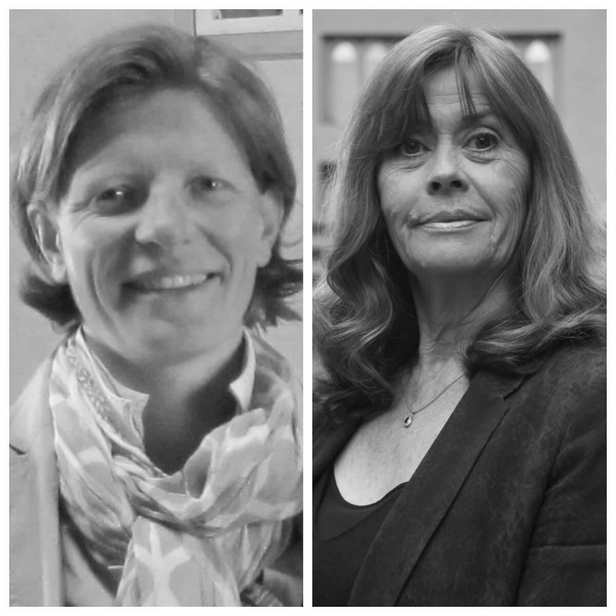 Pascale Chabron und Sandrine Enee