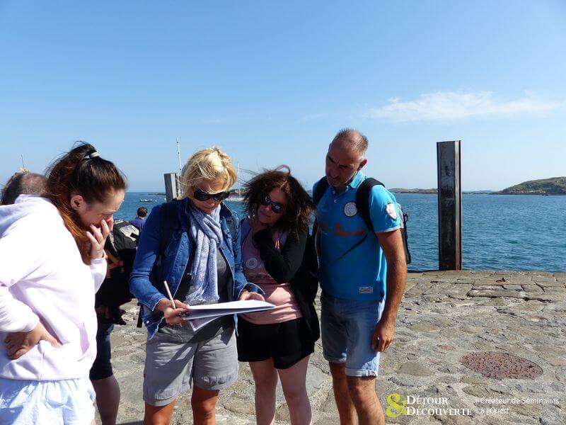 Rallye als Incentive auf den Chausey-Inseln