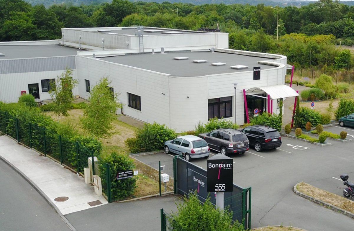 Firmengelände Bonnaire Traiteur Sainte Étienne du Rouvray