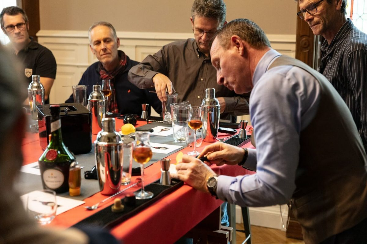 Cocktail-Workshop im Benediktinerpalast