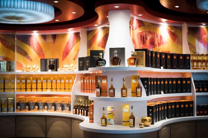 Verkaufsraum Calvados Expérience