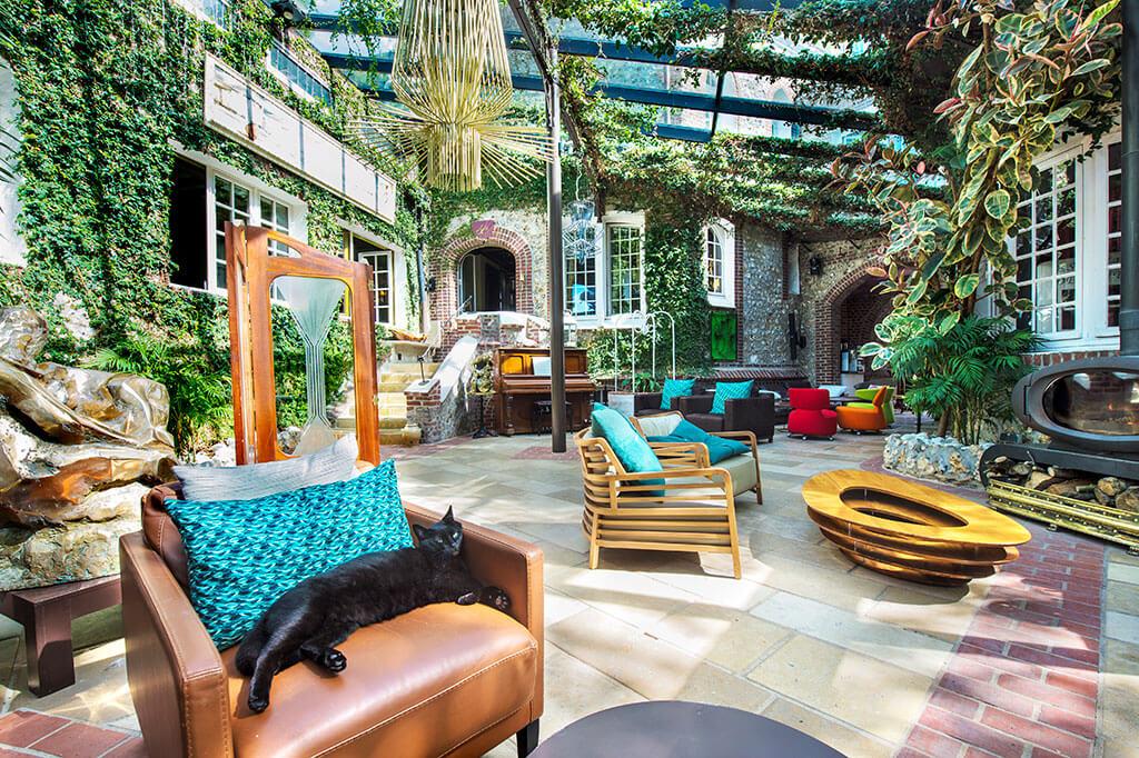 Hotelpatio Domaine Saint Clair