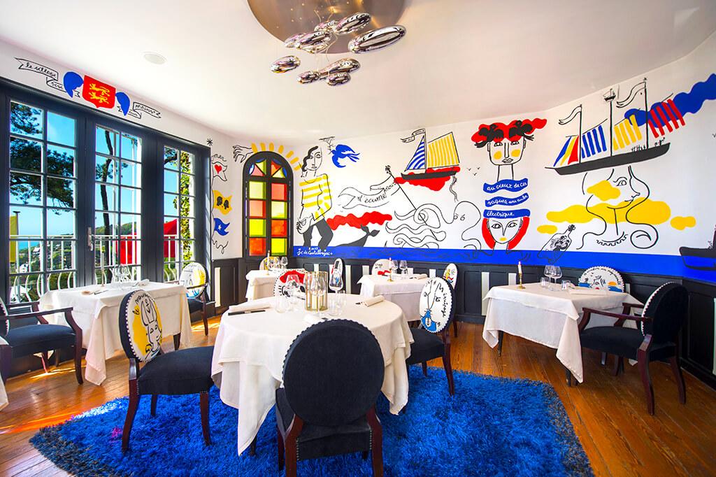 Restaurant Domaine Saint Clair