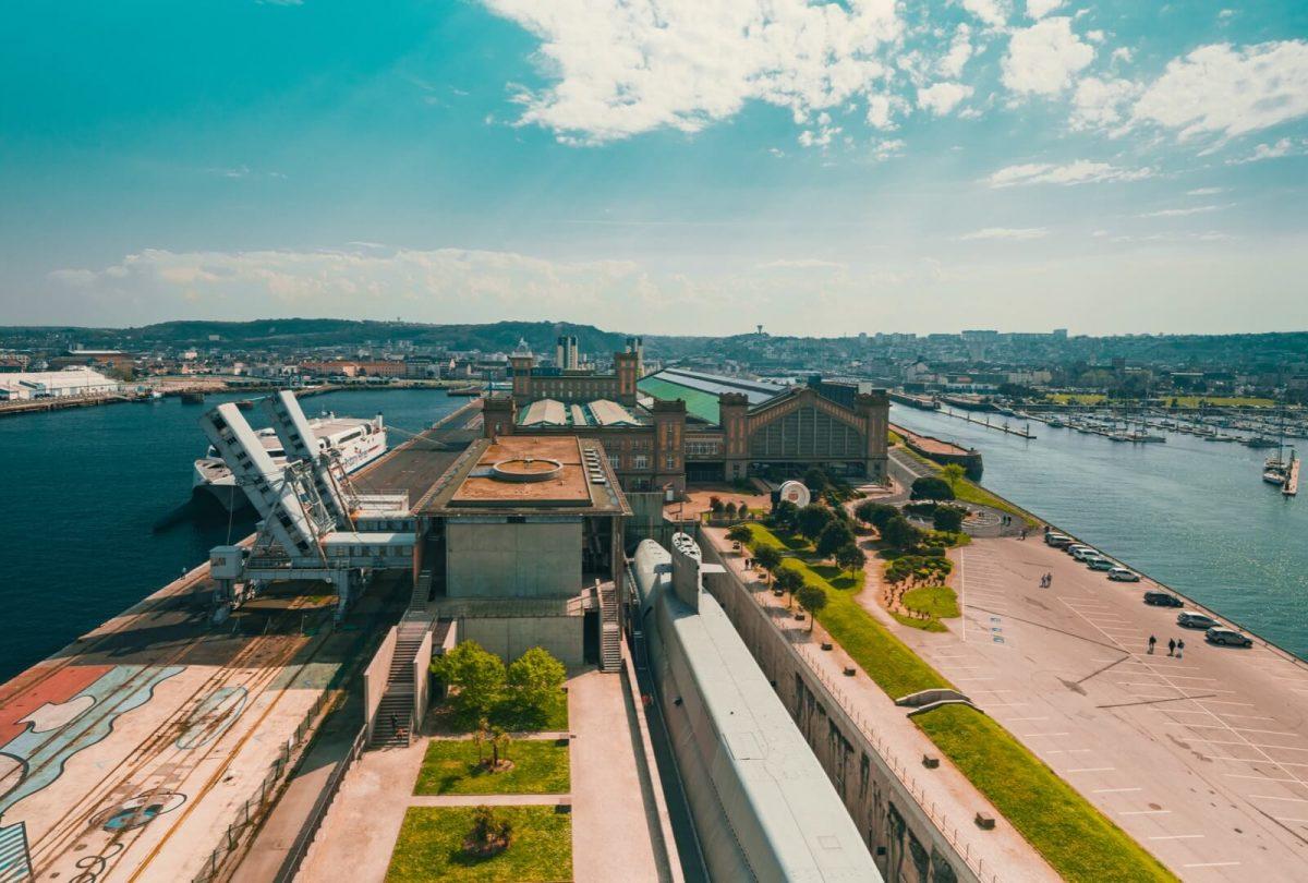 Außenansicht Cité de la Mer Cherbourg