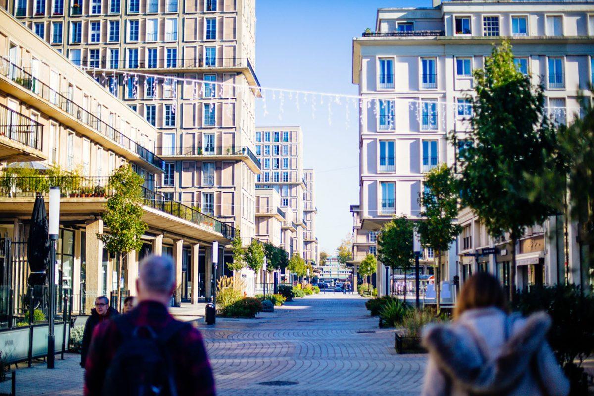 Straße in Le Havre