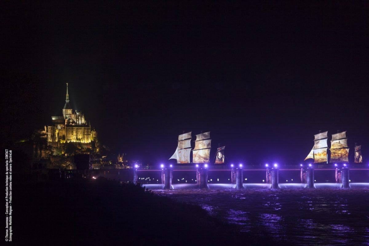 Veranstaltungstechnik Mont Saint-Michel