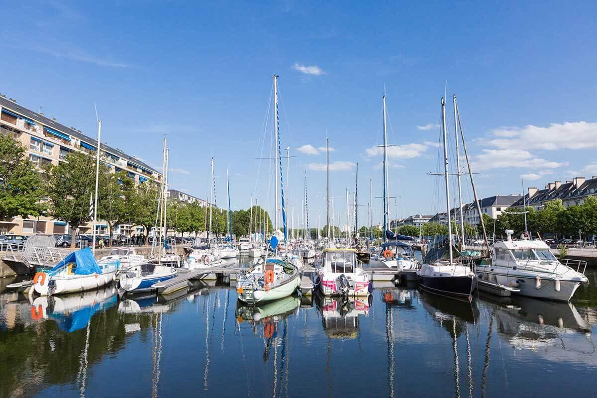Hafen von Caen
