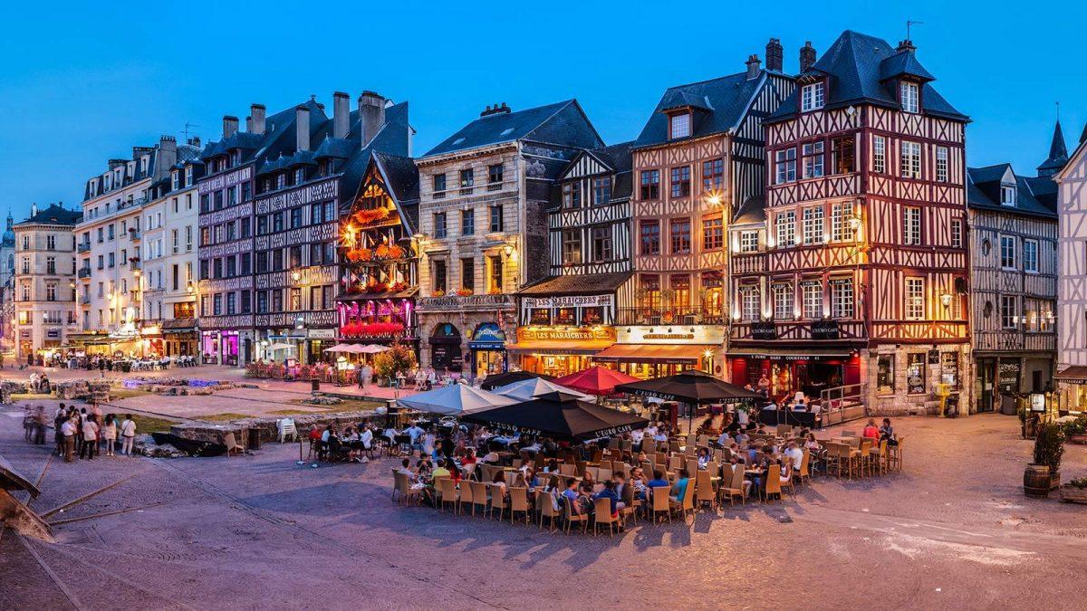 Altmarkt von Rouen
