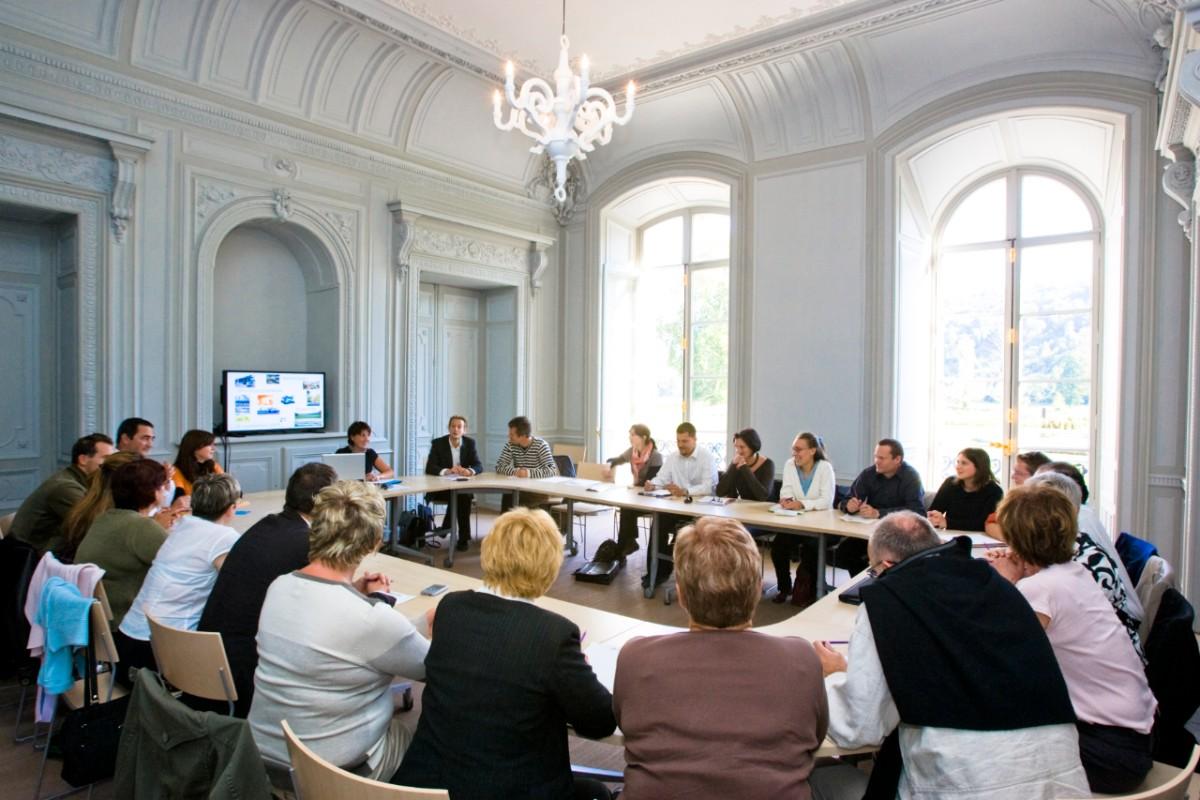 """Abtei von Valasse Seminarraum """"Salon Boutren"""""""