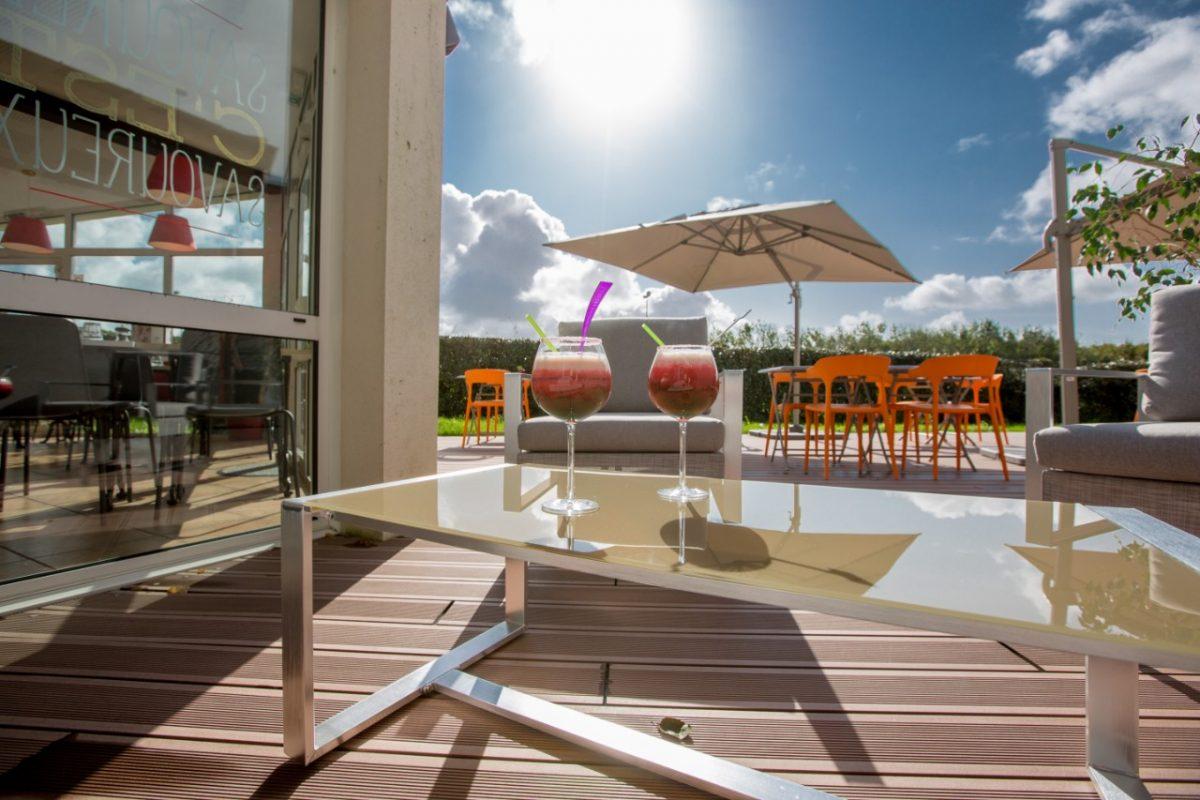 Terrasse Ibis Hotel Cherbourg en Cotentin