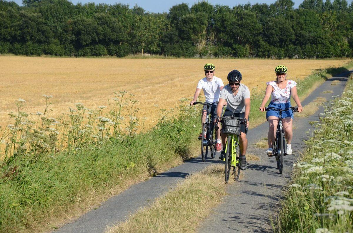 Radtour durch die Normandie