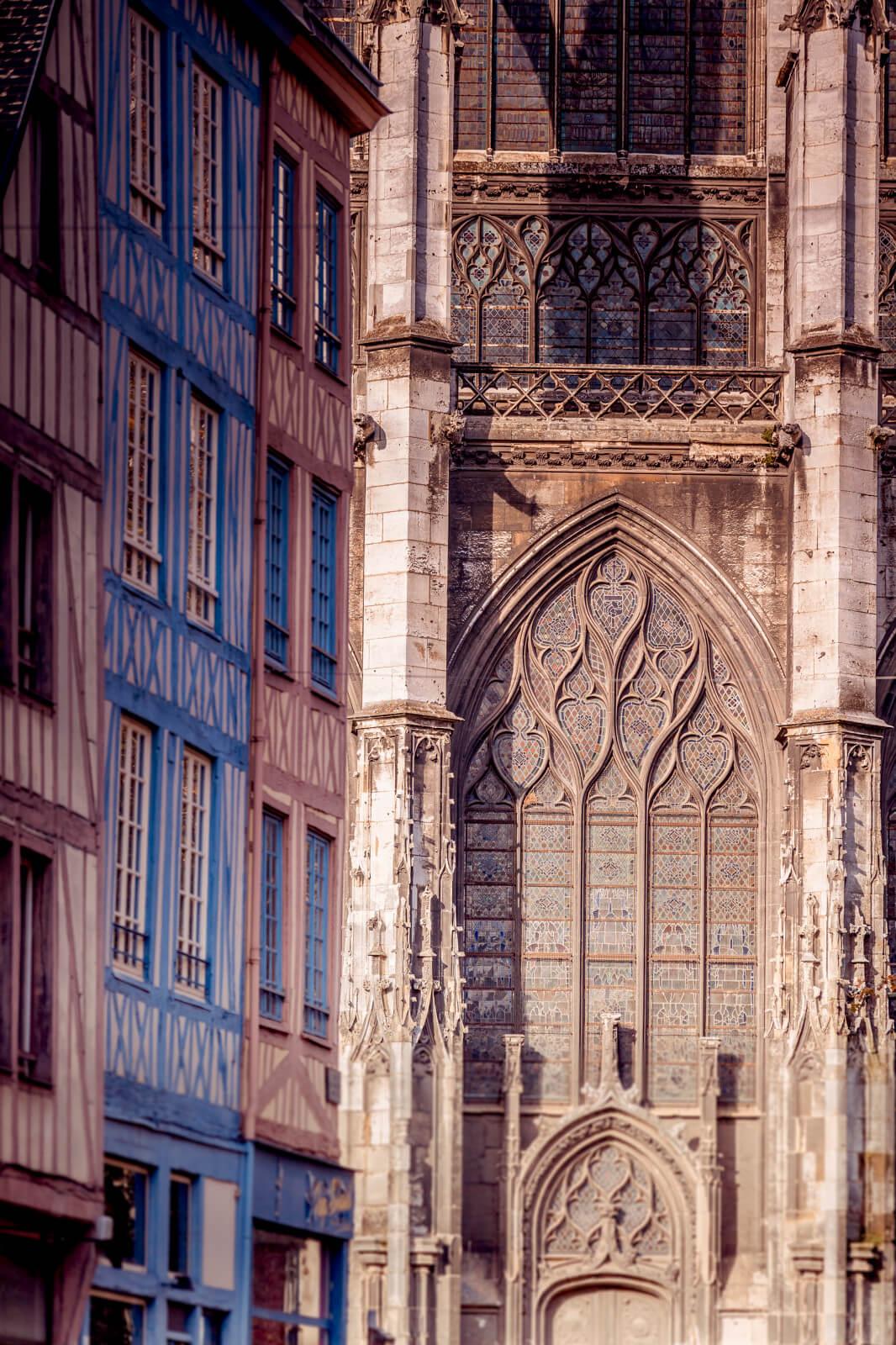 Kathedrale von Rouen Detail Architektur