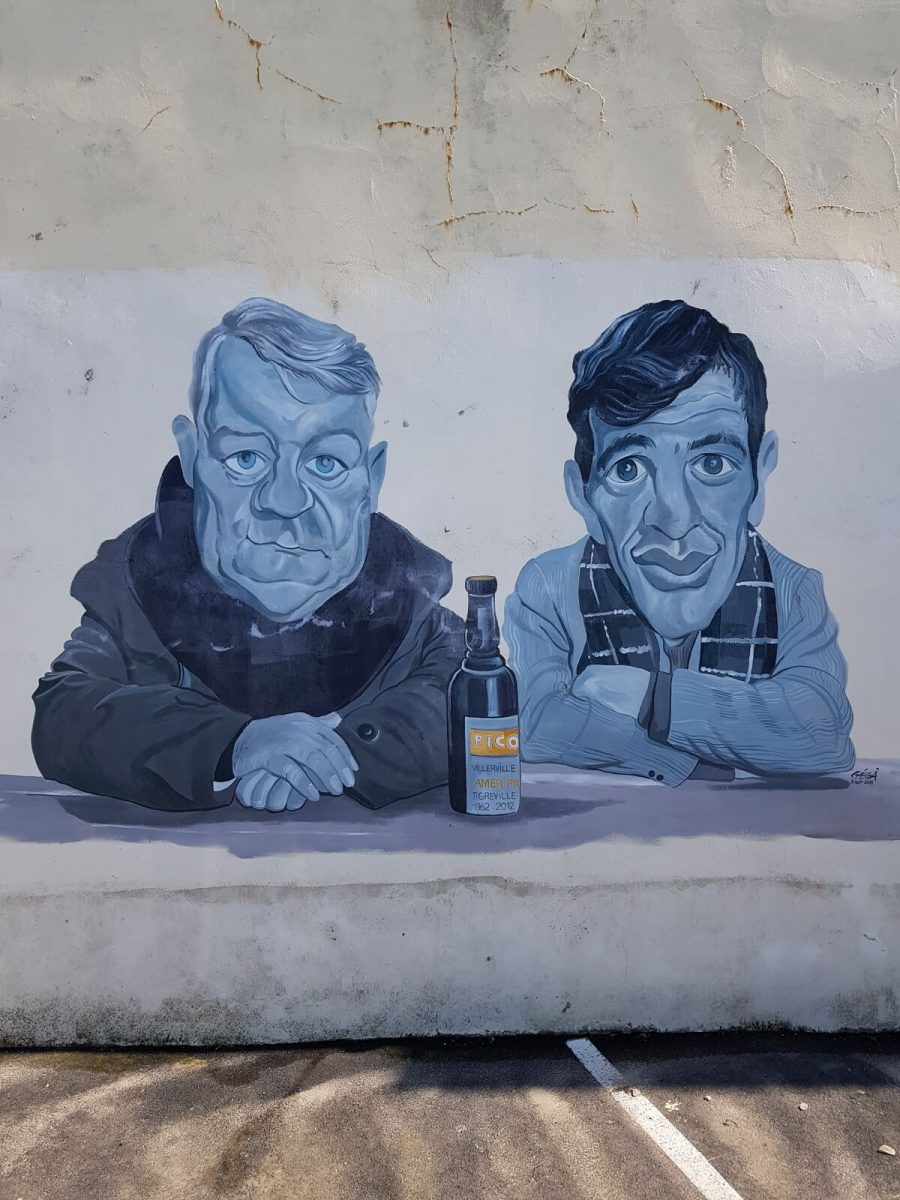 Street art in Villerville