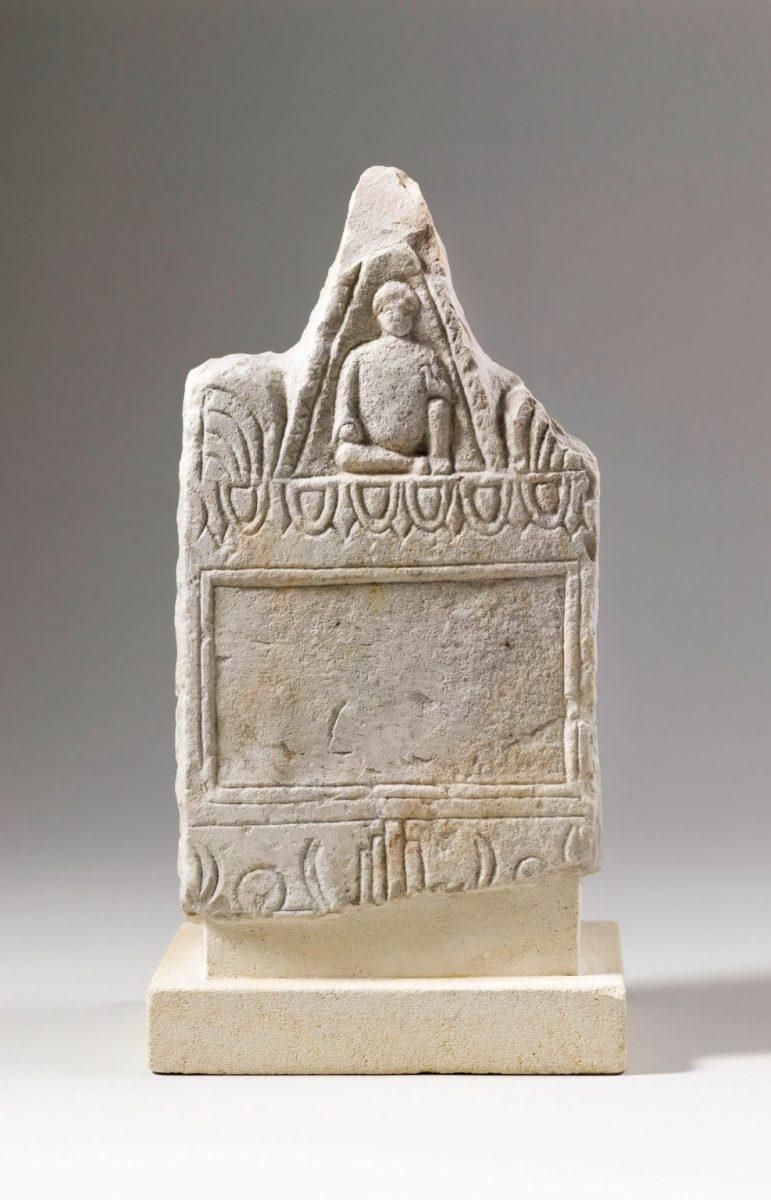 Carthage Tophet, stèle votive, IIIe siècle av.J.-C. © Paris, Musée du Louvres, Département des Antiquités orientales