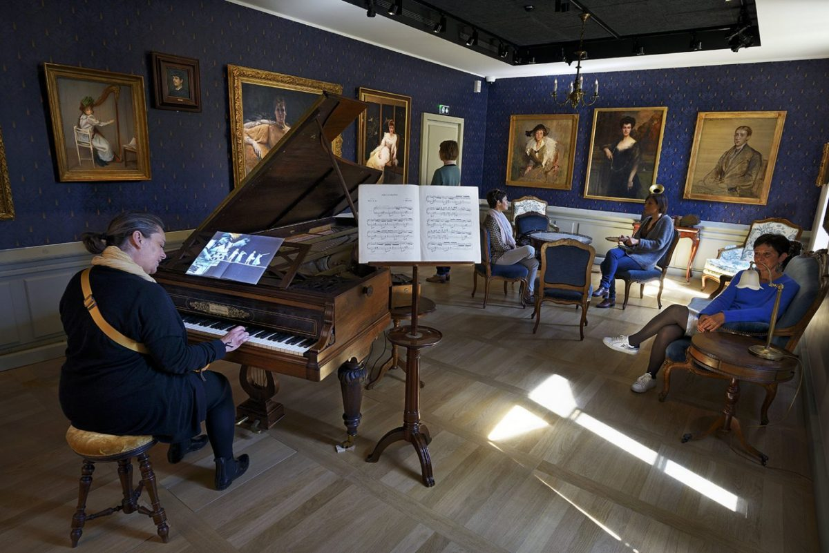 Musiksalon Villa du Temps retrouvé