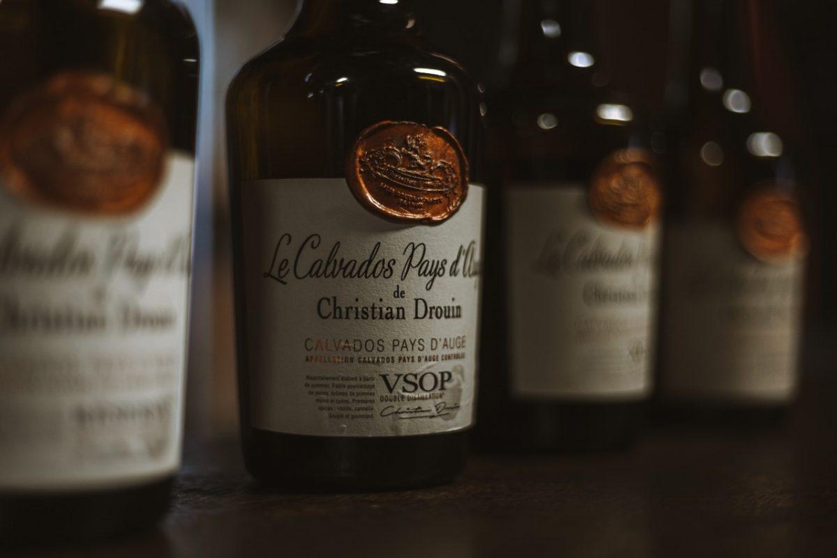 Calvados von Christian Drouin's Destillerie