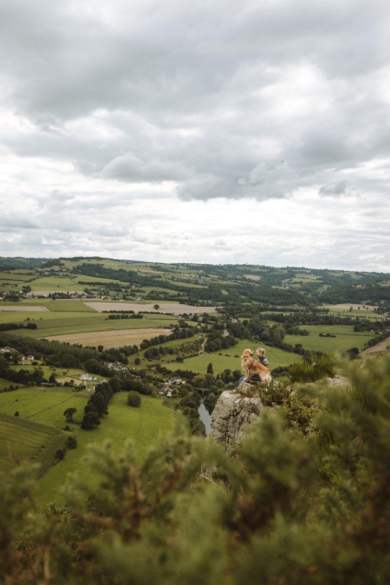 Wandern in der Normannischen Schweiz