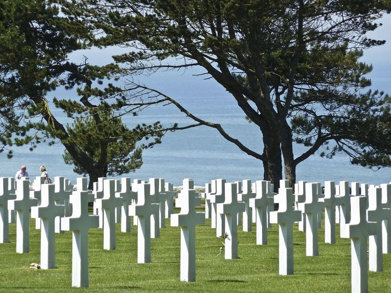Amerikanischer Soldatenfriedhof Colleville-sur-Mer